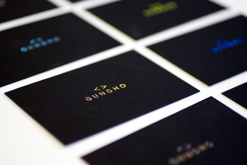 Check out our new business cards! — Gungho