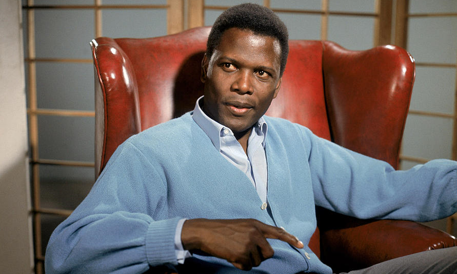 "Sidney Poitier in ""A Patch of Blue"" (1965)"
