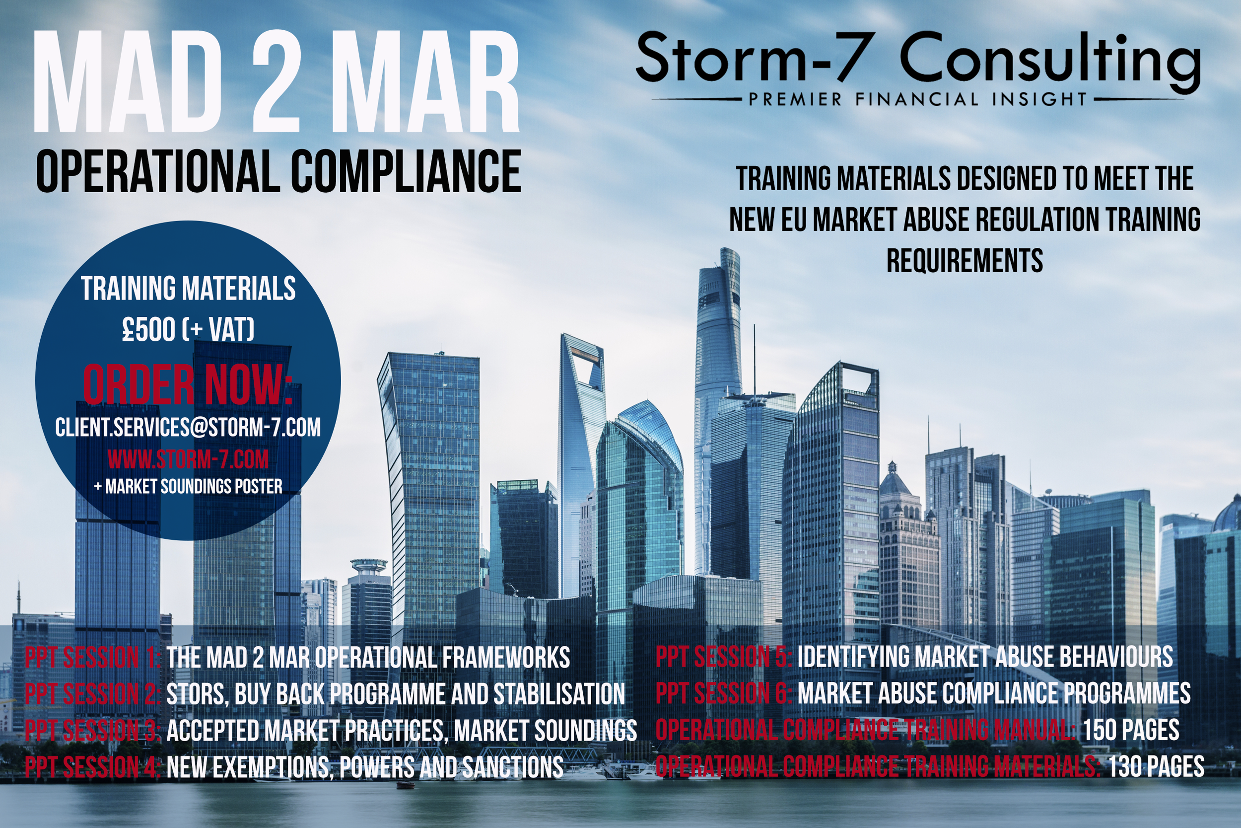 MAD 2 MAR: Operational Compliance Training Materials — S7C