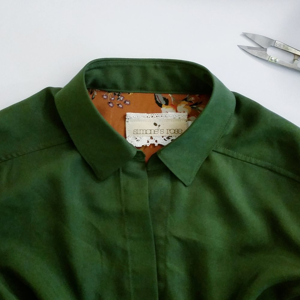 Simone's Rose Garconne blouse