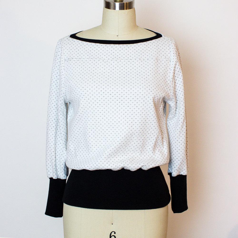 Zero waste sweater