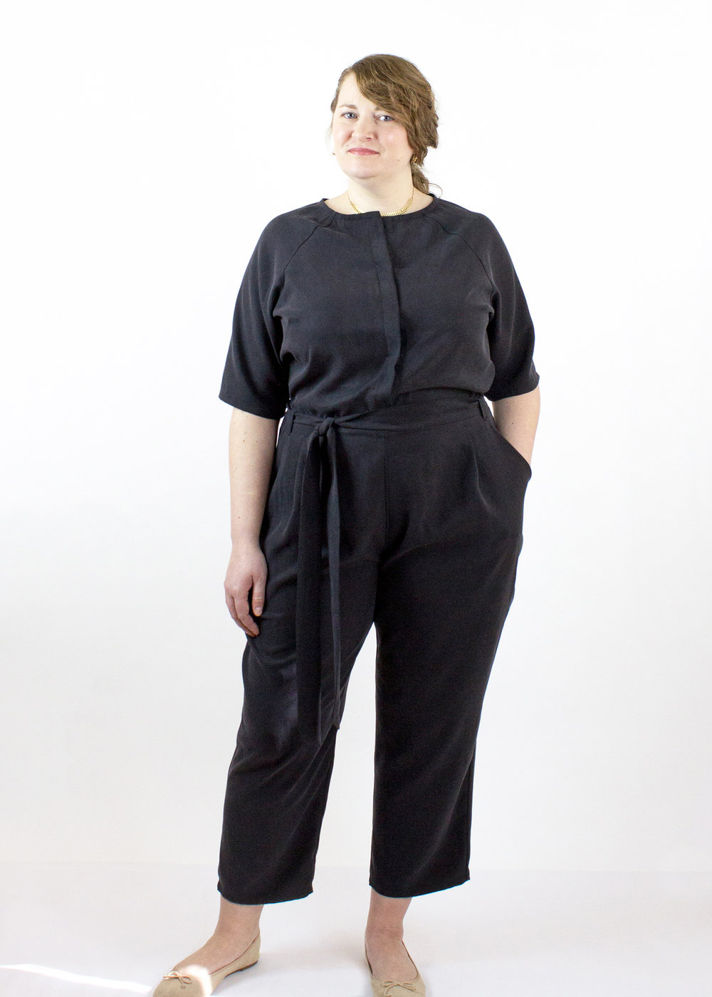 We'll have a limited amount of London Jumpsuits!  Feel free to contact us to reserve or request your size to try on!