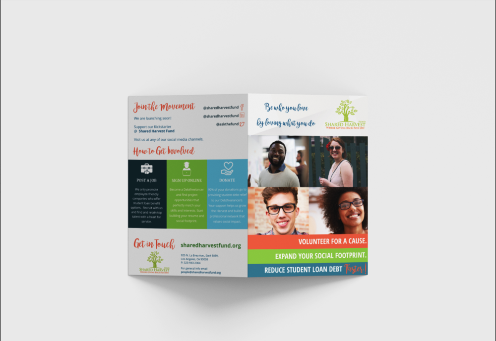 Brand Refresh and Brochure Design
