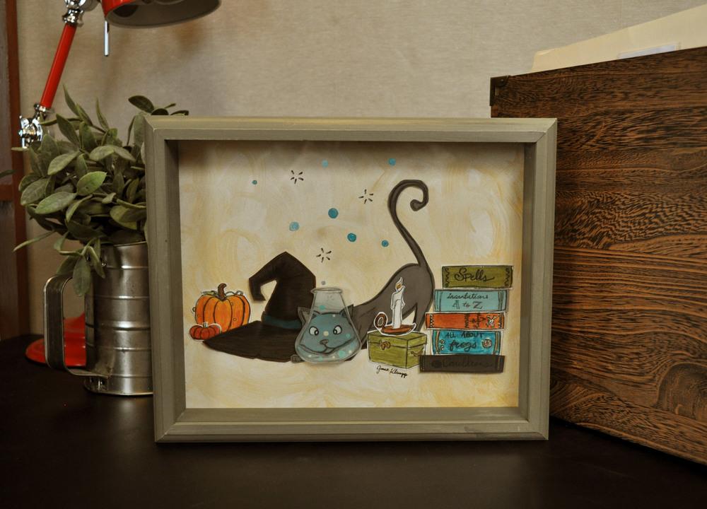 gracie-klumpp-halloween-cat-decor-art-framed-paper-shadowbox-web