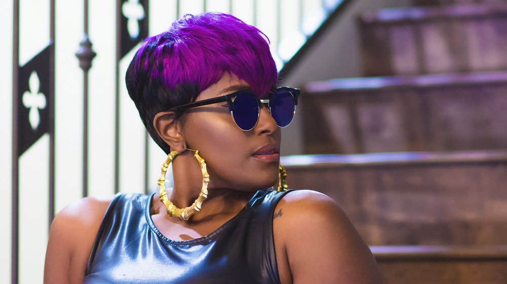 Dallas Black Hairstylist UrbanJunglePhotography Femme Fatal Ah Oui Lashes Part 2.jpg