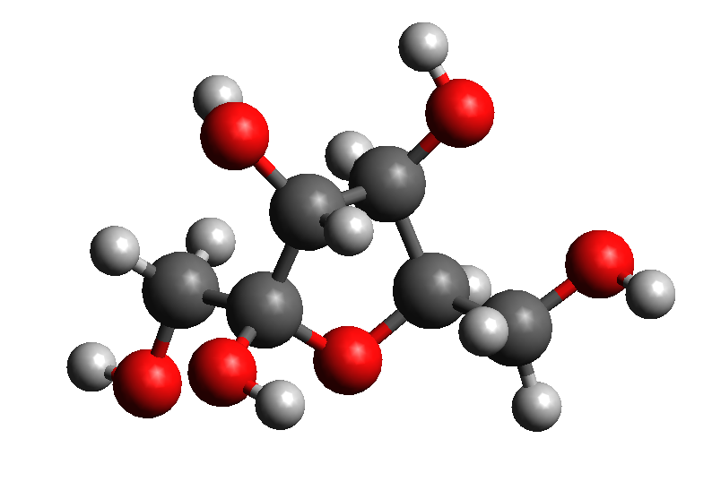 Fructose 3D Model1.png