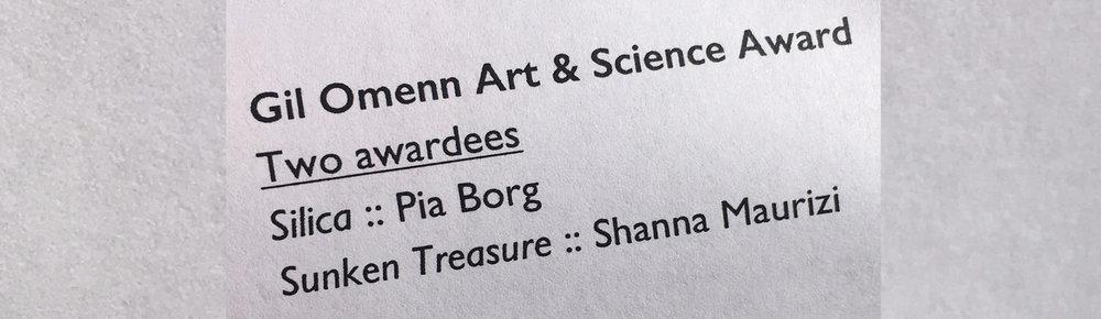 - 56th Ann Arbor Film Festival Art & Science Award