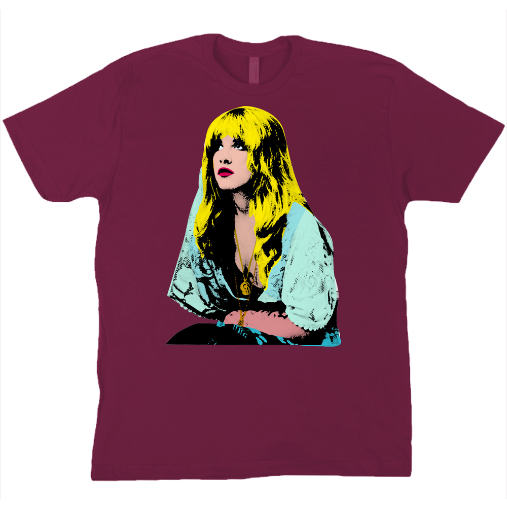 stevie nicks t-shirts maroon.jpg