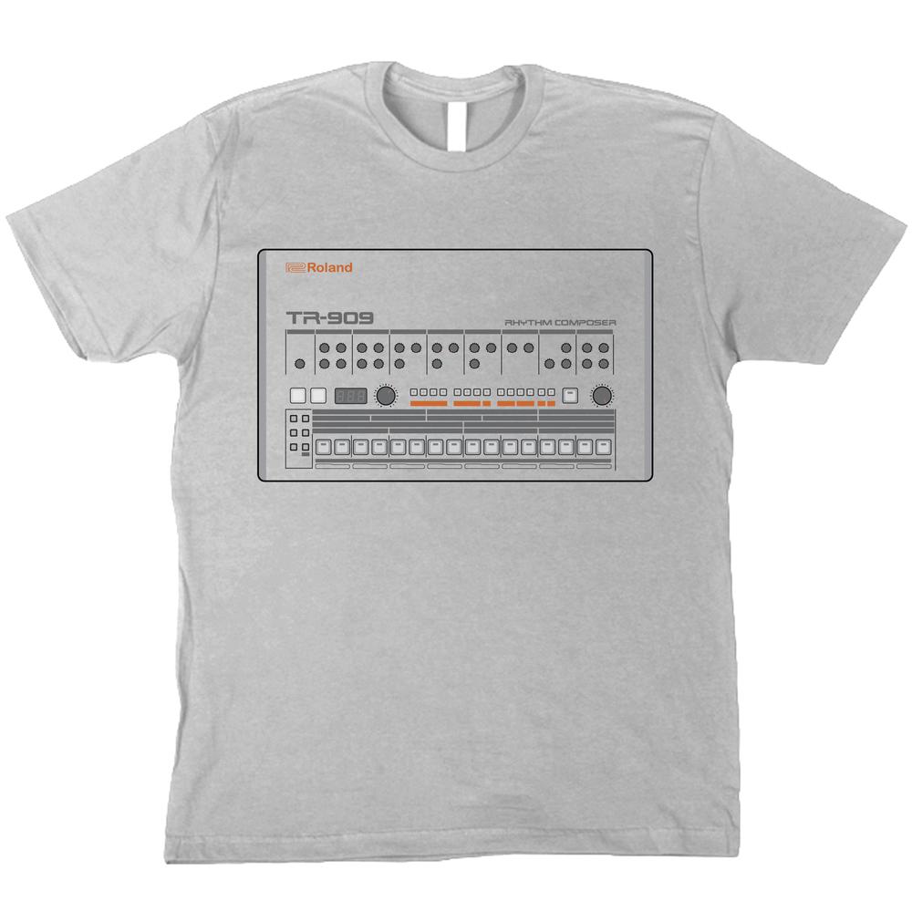 Roland 909 T-Shirt — Rainbow Pie