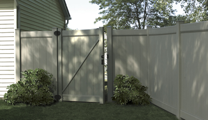 Chesterfield Vinyl Privacy Gate