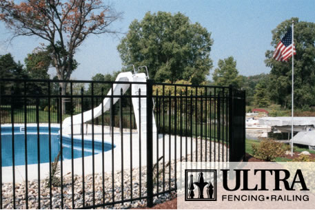 UAF-250 Residential Pool Fence