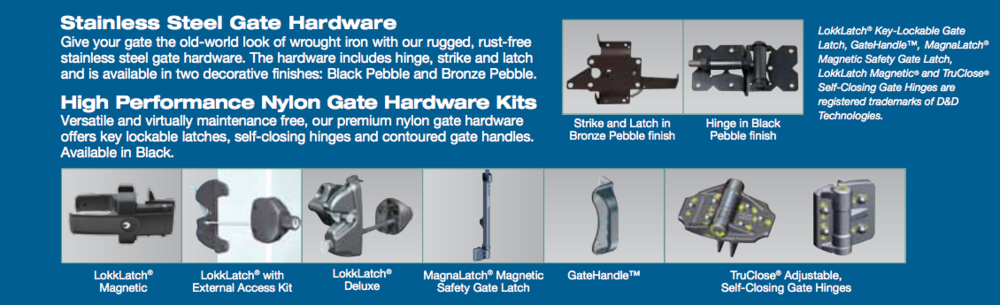 Bufftech Gate Hardware