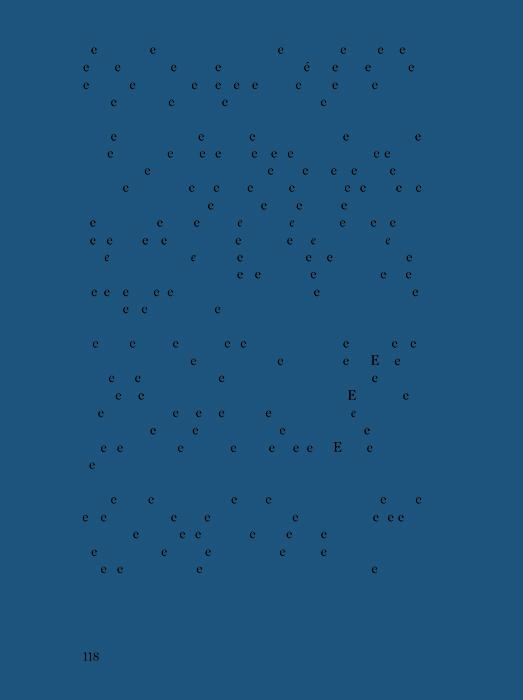 """Los espacios en """"Especies de Espacios"""" de Georges Perec     /   The Spaces in Georges Perec's """"Species of Spaces""""  , 2013     Inyección de tinta sobre papel de algodón / Inkjet print on cotton paper    Políptico de 40 piezas de 37.5 x 28 cm cada una / Polyptych of 40 pieces of 37.5 x 28 cm each     Medidas finales variables / Variable final dimensions    Detalle / Detail"""