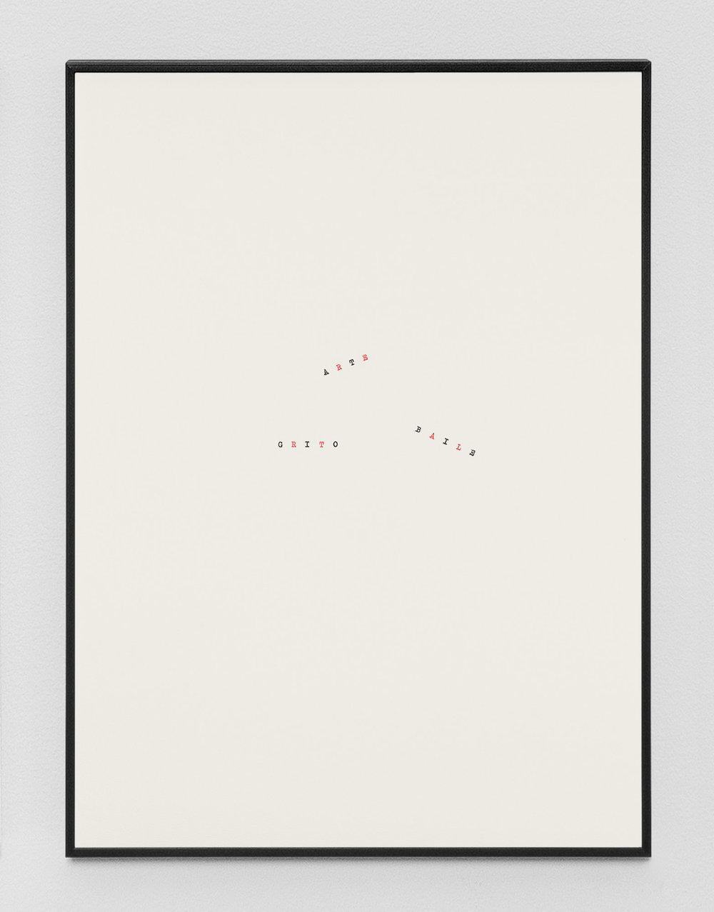 Muerte sin fin (José Gorostiza) I – XVI  , 017  Tinta sobre papel / Ink on paper  37.5 x 27.5 cm  Detalle / Detail