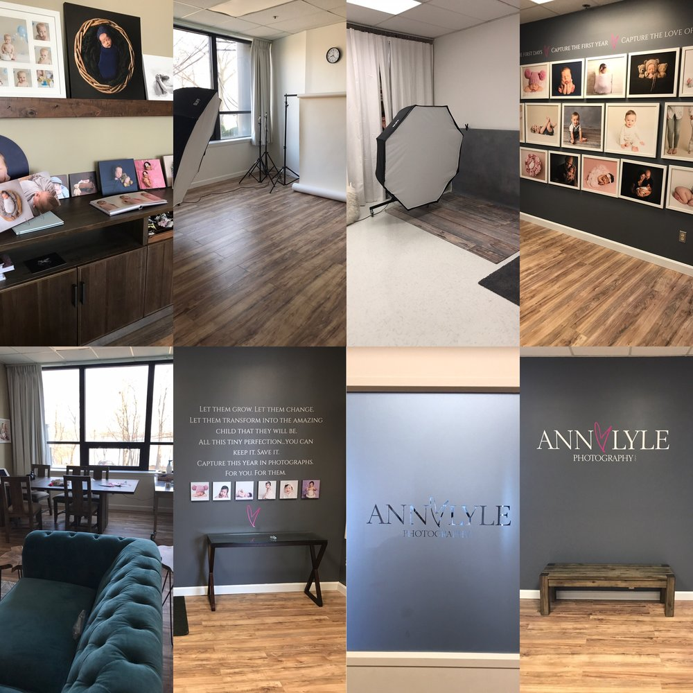 Ann Lyle's 2000 sq ft photography studio at 63 Fountain Street, Framingham, MA.