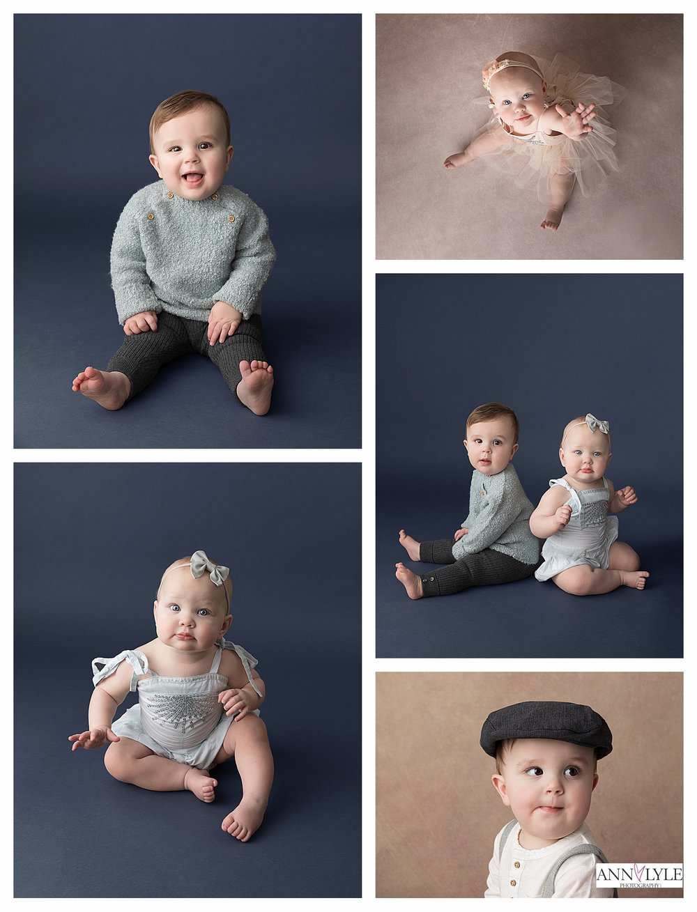 These cuties are on my baby photographer plan. I did their newborn session, 4 months, 8 months (photos above) and soon they will be back for their Cake Smash session. It's so amazing to watch these babies grown over 1 year.