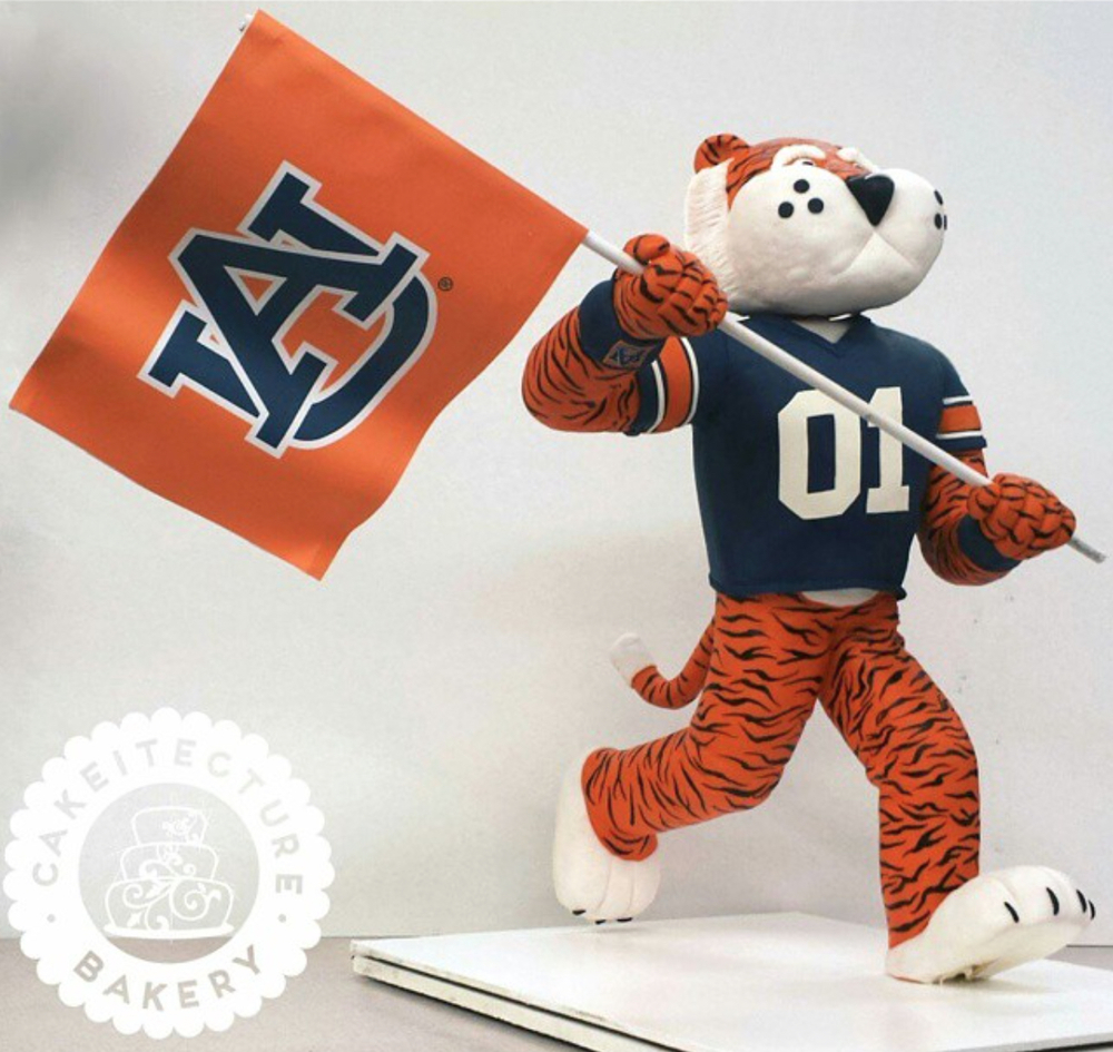 "Cakeitecture Bakery on Twitter: ""We did another Aubie Cake! Isn't ..."