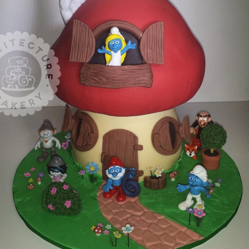 Cakeitecture Bakery smurfs.jpg