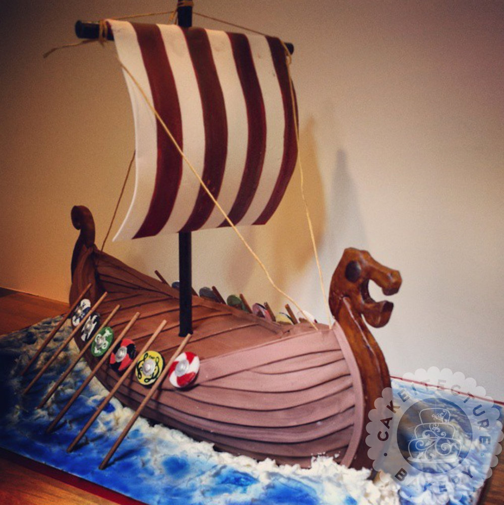 Cakeitecture Bakery viking ship.jpg