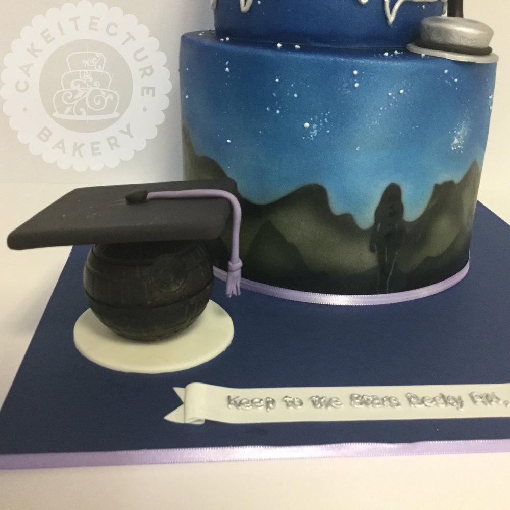 Cakeitecture Bakery 1710 starwars graduate cake.jpg