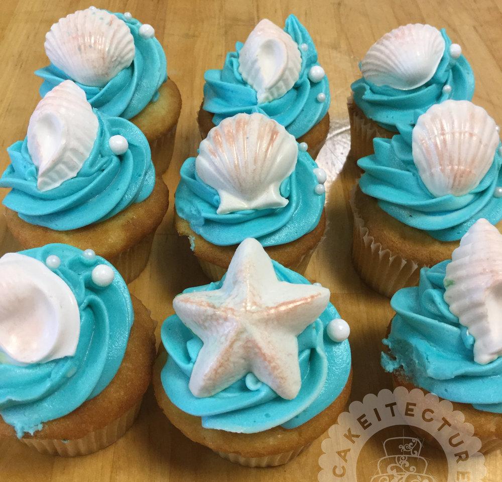 Cakeitecture Bakery 1701 seashell cupcakes.jpg