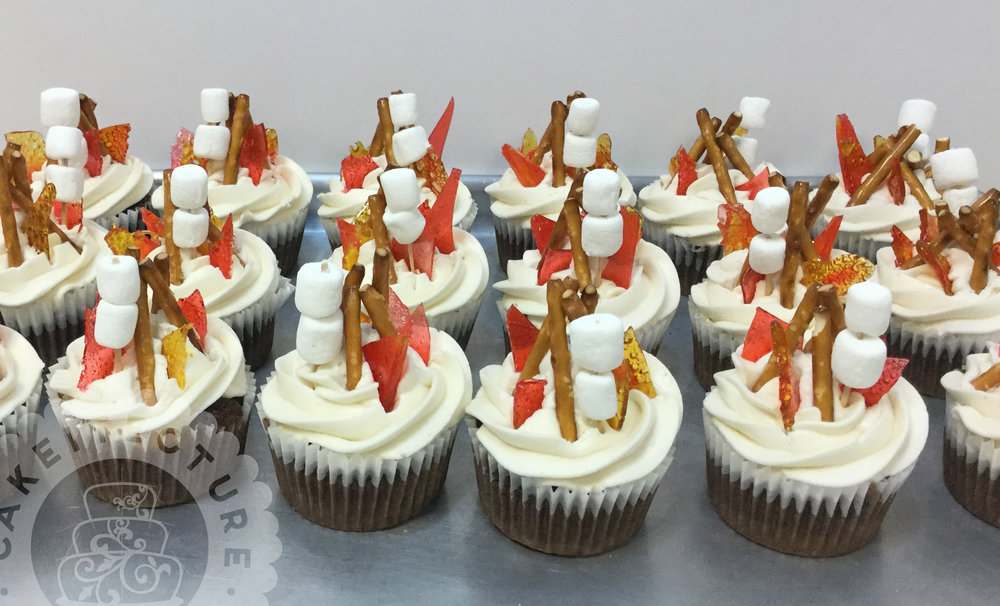 Cakeitecture Bakery 1703 campfire cupcakes.jpg