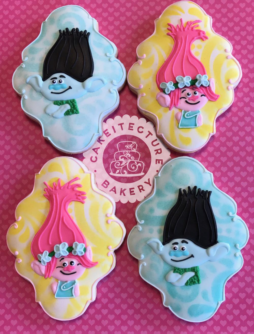 Cakeitecture Bakery trolls custom cookie.png