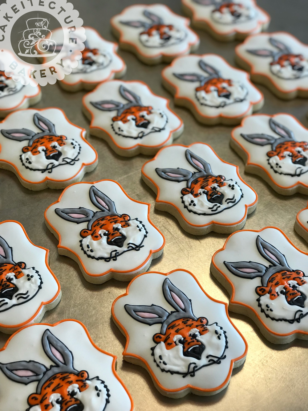 Cakeitecture Bakery custom cookie Easter Aubie.png