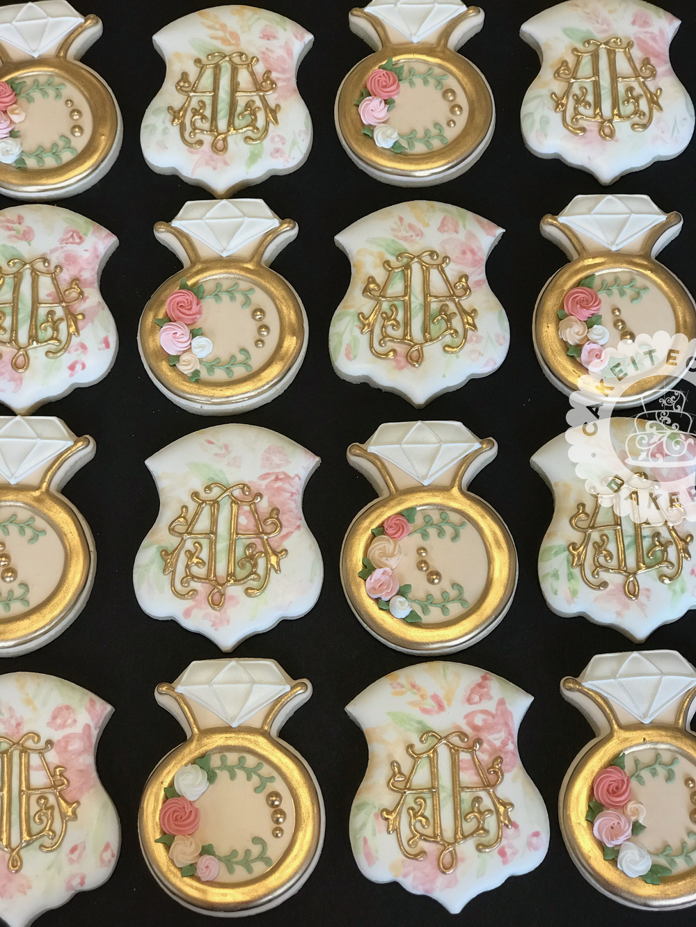 Cakeitecture Bakery Custom cookies engagement set.png