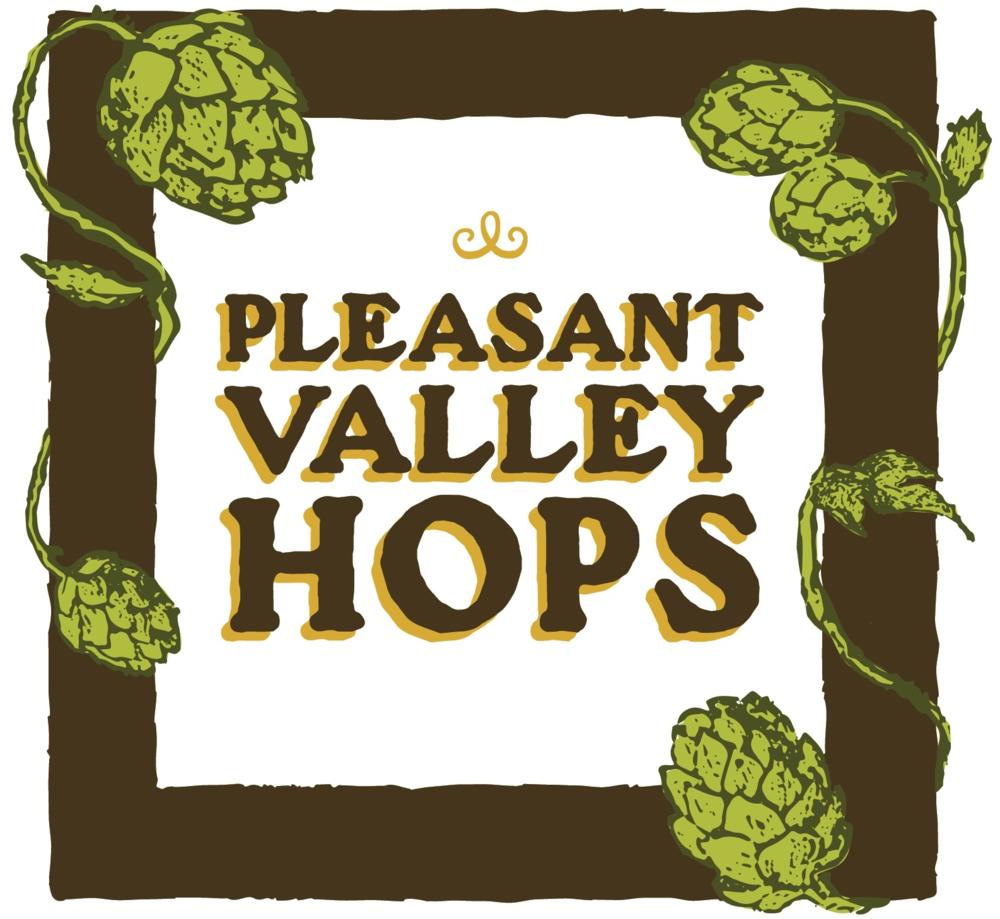 Pleasant Valley Hops logo