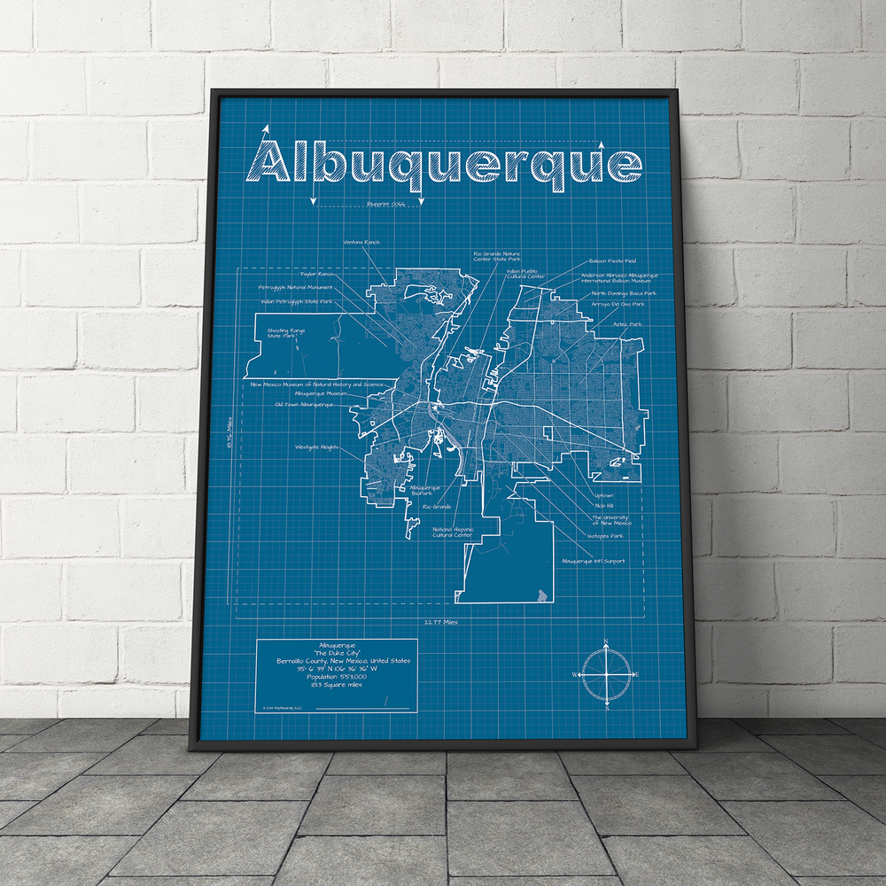 City blueprints maphazardly albuquerque city blueprint maphazardlyg malvernweather