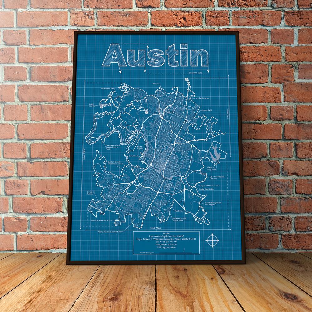 City blueprints maphazardly austin city blueprint maphazardlyg malvernweather Images