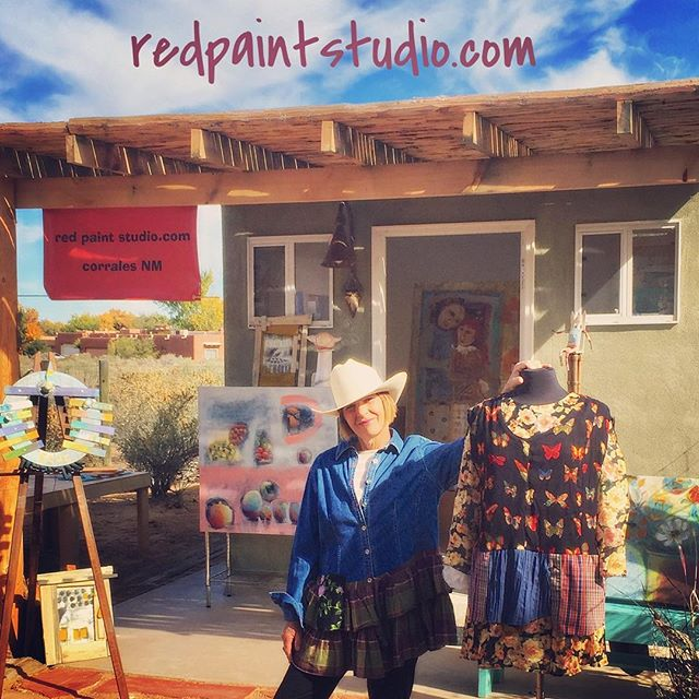 New Mexico Fiber Crawl  May 18-20 cool clothes and silk painting demos! at redpaintstudio www.nmfibercrawl.org  #nmfibercrawl #redpaintstudio #corrales #newmexico #albuquerque #fiberarts #clothingbrand #clothingdesigner #studioartist #openstudio #makersgonnamake #artfulhome #artfulclothing #silks #linen #refashionista #sewing #corelinescloset #fabrics