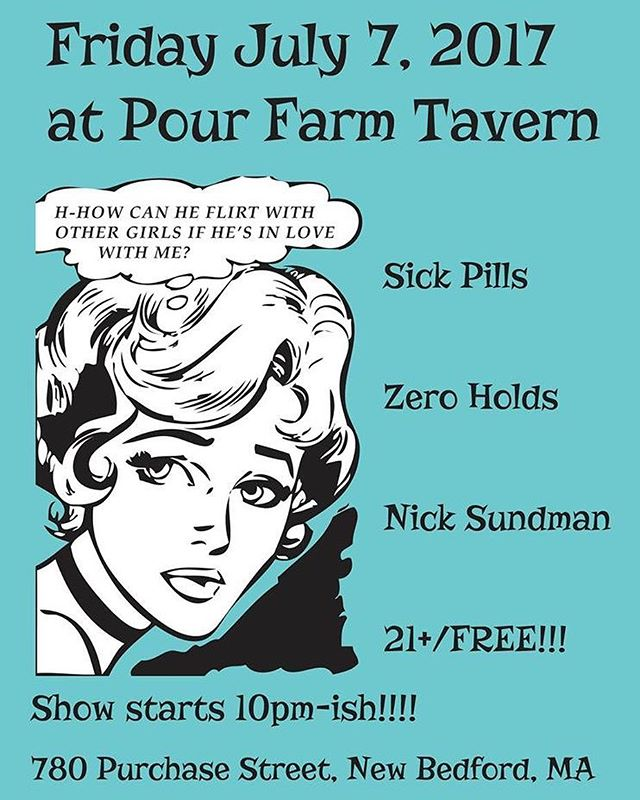NEW BEDFORD MASS, We comin for ya.  FRIDAY at @pourfarmtavern let's get together!