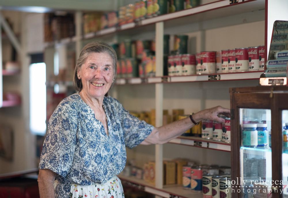 Mrs. Abbott - Abbott Store 1943