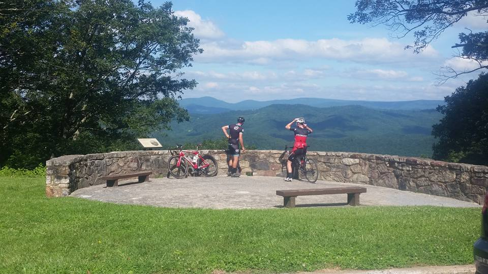 The starting point for one of my favorite loops in Highland County, VA.