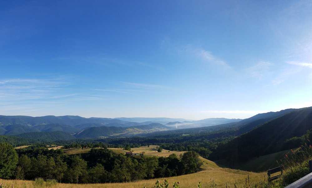 I always stop at this overlook when I'm heading into WV. Germany Valley Overlook <3