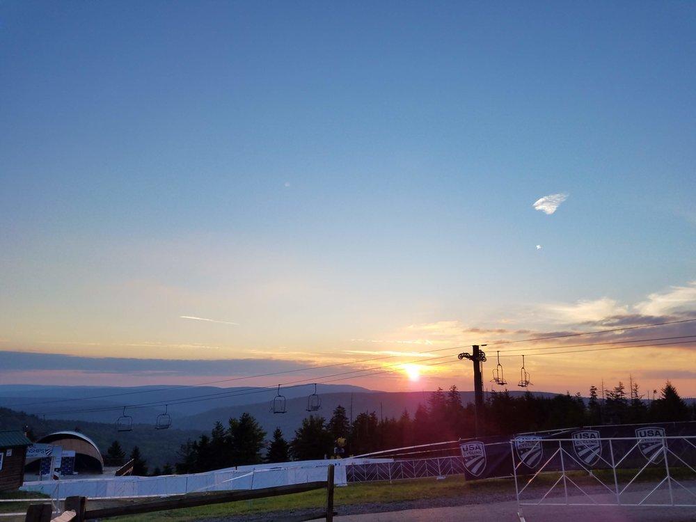 Race Day Sunrise!