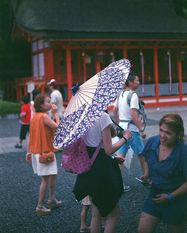 It's dangerous to go alone! Take this: ☔️ . Check out more of my film shots at : www.328pm.com/film-is-dead/ . (1/3) Expired Superia 400, shot in my trusted AE-1. Japan 🇯🇵 2016 . #35mm #Film