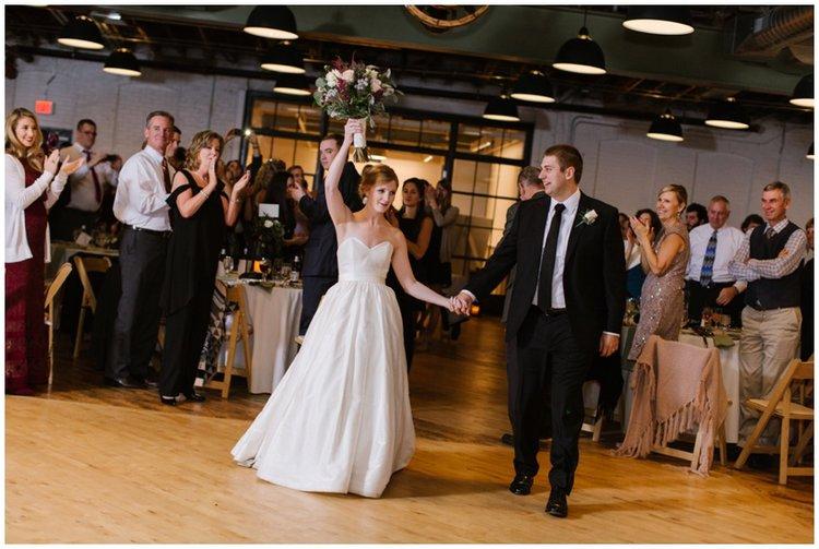 abigail + mike | accelerator space bmore kitchen wedding | baltimore ...