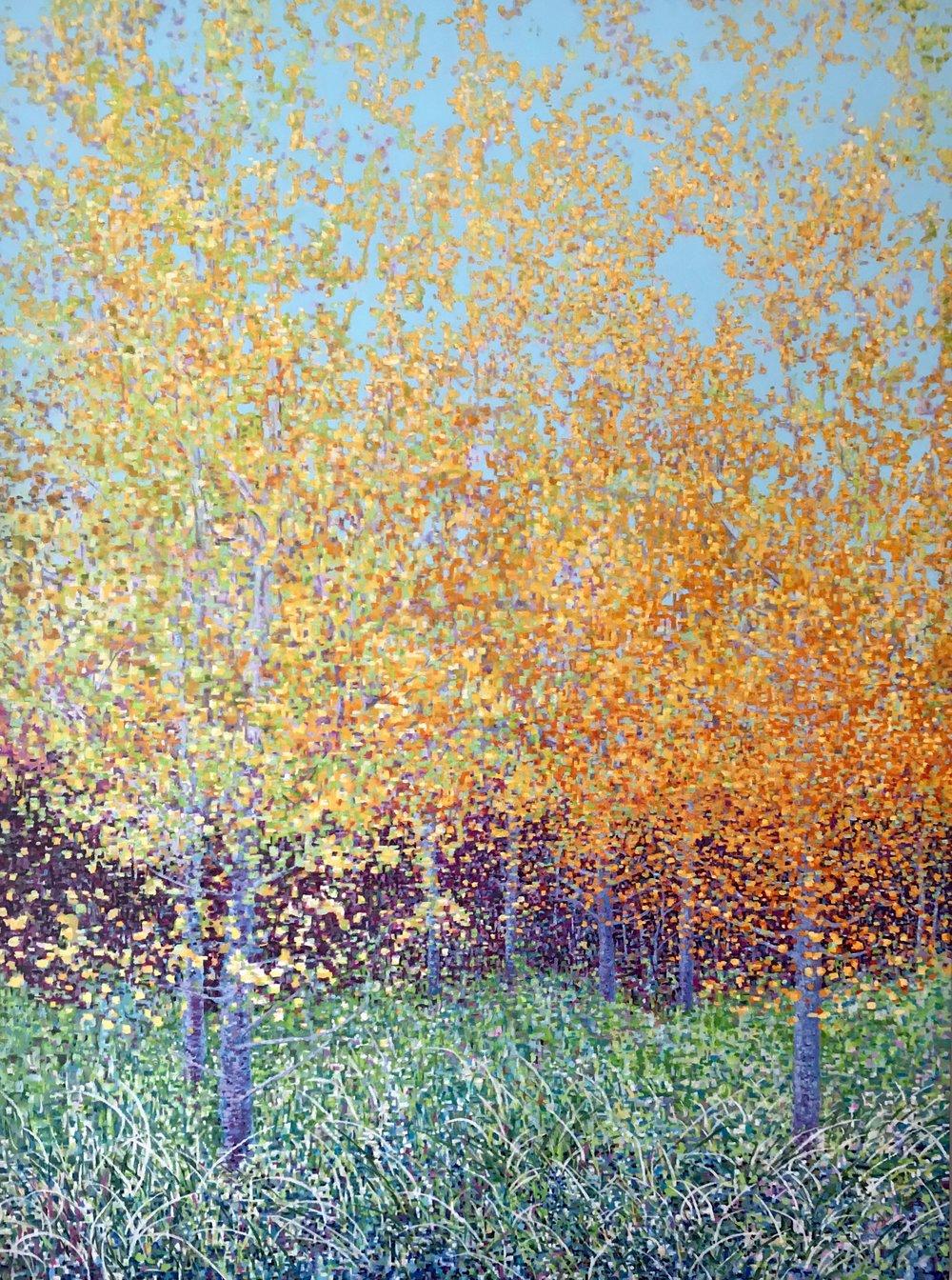 """Autumn, Oil on Linen, Oil on Linen, 36 x 48"""" 2018"""