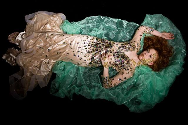 Photographer: Mike Hammond   Creative Art Director: Jaquelin Stanford   Dress: Alyce Paris   Model: Katie McGinnis
