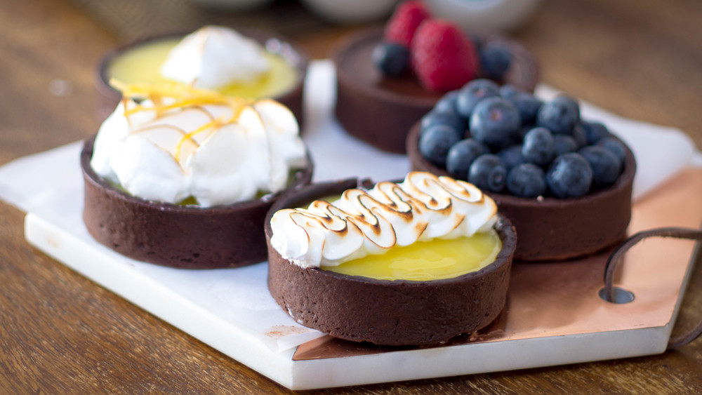 Lemon Meringue and Chocolate Ganache Tarts.jpg