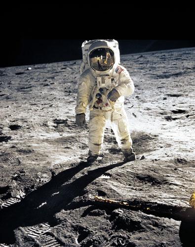 Astronaut Edwin E. Aldrin
