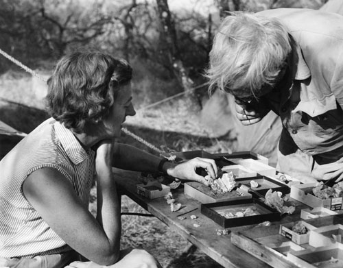 Drs. Mary and Louis Leakey