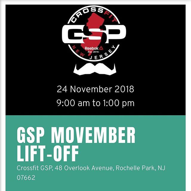 Guys we're a few days away! Make sure to sign up!! It is for a great cause. We have prizes for male and female top lifter and top donation! We are doing this to bring awareness to the causes that @movember is fighting for. Prostrate/Testicular cancer and Aldo mental health and suicide prevention. You can go on the website to sign up to lift or donate. You can also come the day off and throw some weight around for a good cause! The event starts at 9:00am please arrive 8:30 to get you all set up! Thank you in advance can't wait to see you all on the floor!