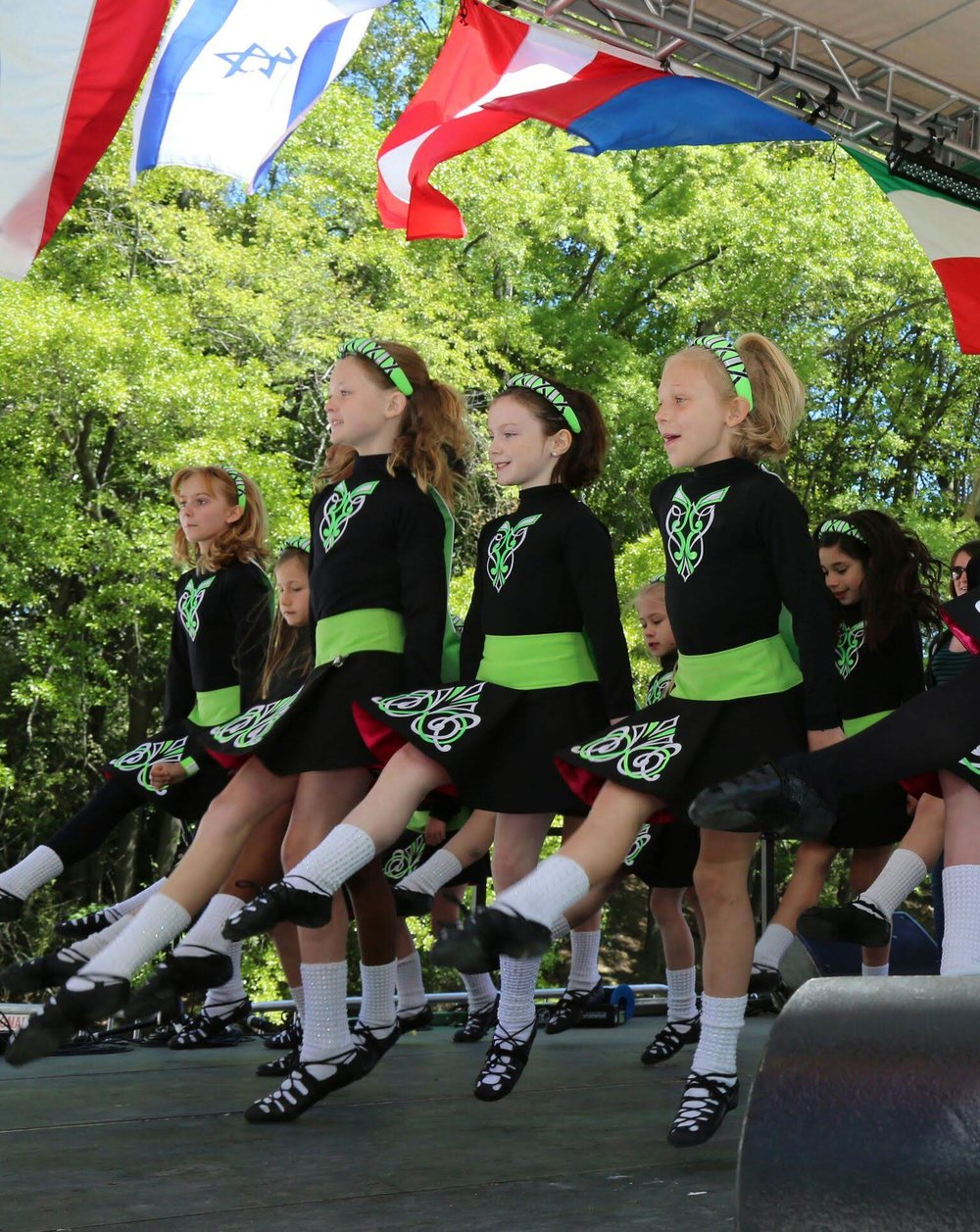 Our Beginner Skirts, Embroidered Leotards, Capes & Headbands!