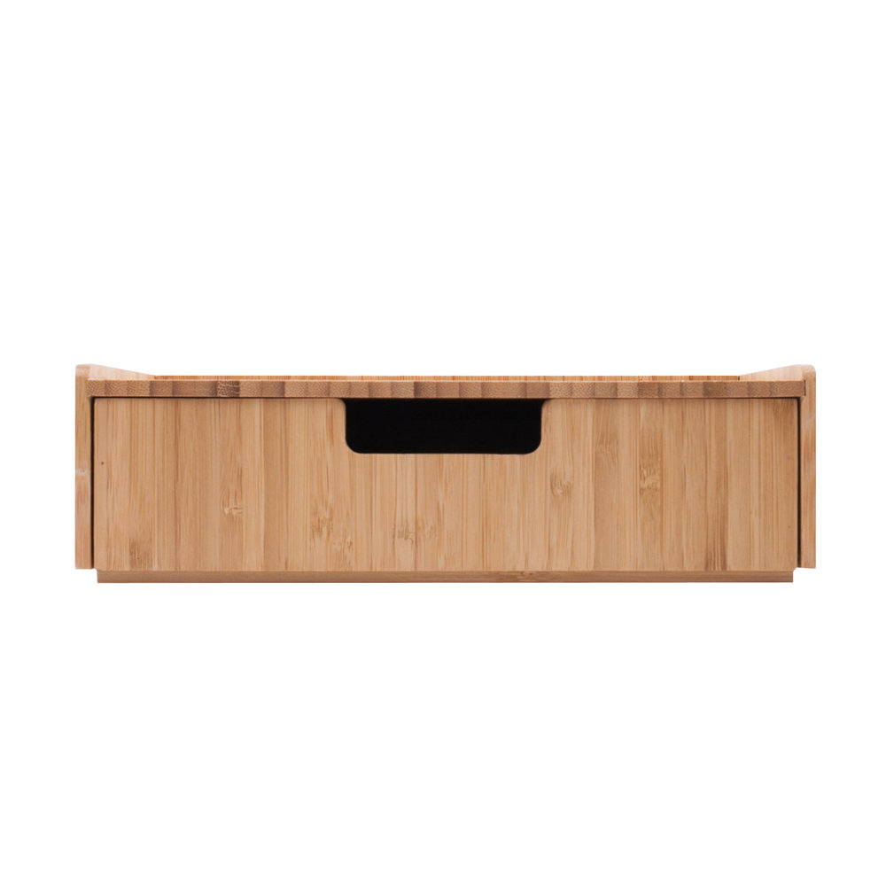 Bamboo Drawer, Stackable Storage Solution
