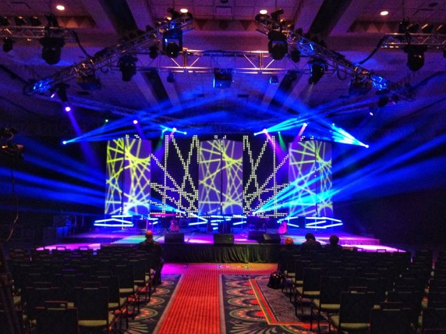 CPC National Conference. Lead Lighting designer for Legacy Sound Productions.