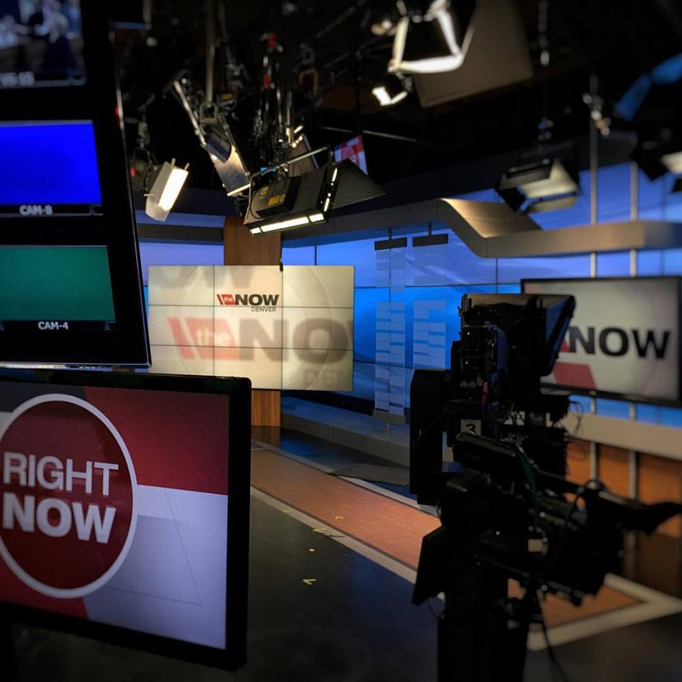 Ch 7 News Main Studio full re-light with LD  Bill Holshevnikoff